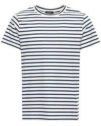 A.P.C. - コットンtシャツ - Lyst