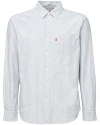Levi's コットンジャージーtシャツ - ブルー