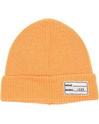 LC23 Bonnet En Laine - Orange