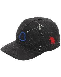Moncler Бейсбольная Кепка Из Габардина С Логотипом - Серый