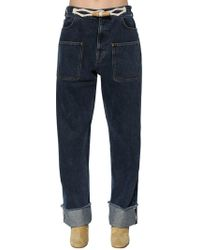JW Anderson - Denim Jeans W/ Toggle Details - Lyst