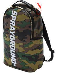 "Sprayground Rucksack ""bodyguard Logo Camo"" - Mehrfarbig"