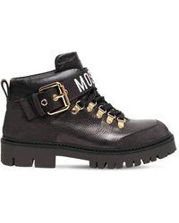 Moschino Кожаные Ботинки 30mm - Черный