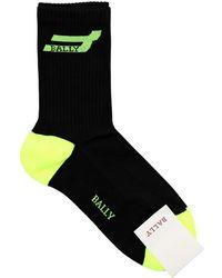 Bally Носки Из Хлопка - Черный