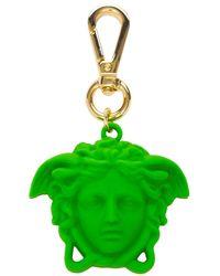 Versace Medusa Charm Key Holder - Multicolour