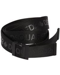 DSquared² - Cintura In Webbing 40mm - Lyst