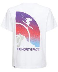 """The North Face T-shirt Aus Baumwolle """"maven"""" - Weiß"""
