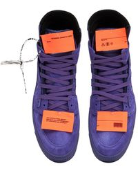 Off-White c/o Virgil Abloh Lvr Exclusive Sneakers Altas 3.0 Off Court - Morado