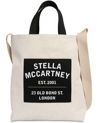 Stella McCartney - コットンキャンバストートバッグ - Lyst