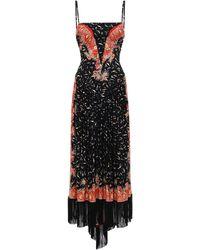 Paco Rabanne ストレッチジャージードレス - ブラック