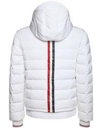 Thom Browne テックツイルダウンスキージャケット - ホワイト