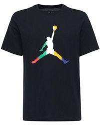 "Nike Baumwoll-t-shirt ""jordan Sport Dna"" - Schwarz"