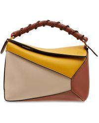 Loewe Small Puzzle Edge Top Handle Bag - Multicolour
