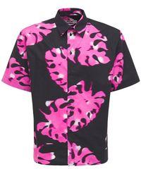 MSGM コットンシャツ - ピンク