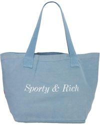 Sporty & Rich Classic トートバッグ - ブルー