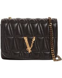 Versace - Сумка Из Стёганой Кожи - Lyst