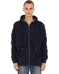 Y. Project Reversible Sweatshirt Hoodie - Grey