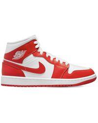Nike Sneakers Air Jordan 1 Mid Se - Rouge