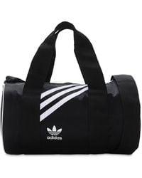 adidas Originals ナイロンダッフルバッグ - ブラック