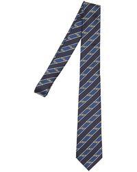 Gucci Шёлковый Галстук 7cm - Синий