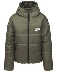 "Nike Gepolsterte Jacke ""therma Fit Classic"" - Grün"