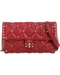 Valentino - Candy Leather Clutch - Lyst