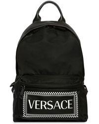 e88ebcb5809 Black Nylon Logo Backpack