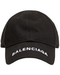 Balenciaga Baseballkappe Mit Logo - Schwarz