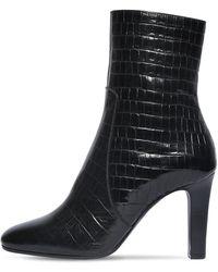 Saint Laurent Кожаные Сапоги Jane 90мм - Черный