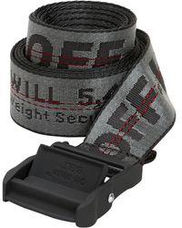 Off-White c/o Virgil Abloh - 35mm Nylon Industrial Belt - Lyst