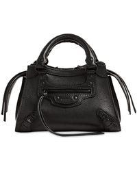 Balenciaga Neo Classic Mini Top Handle Bag - Schwarz