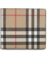 Burberry Beschichtete Brieftasche Mit Karos - Mehrfarbig