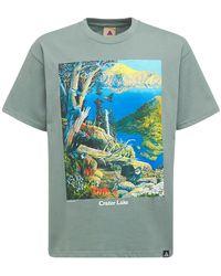 Nike Acg Crater Lake コットンtシャツ - グリーン