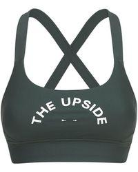 The Upside Paola Matte Tech ブラトップ - グリーン