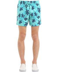 Vilebrequin - Moorea Sea Turtles Print Swim Shorts - Lyst