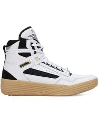PUMA - Clyde All-pro Kuzma Mid Sneakers - Lyst
