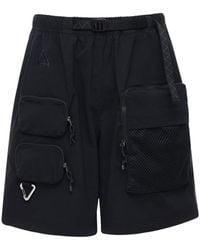 """Nike Shorts Cargo """"Nrg Acg"""" - Negro"""