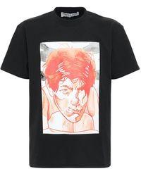 JW Anderson - オーバーサイズジャージーtシャツ - Lyst