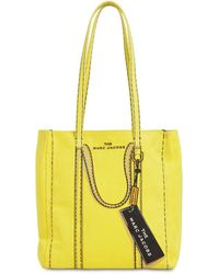 Marc Jacobs - The Tag コットン&リネンキャンバストートバッグ - Lyst