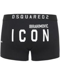 DSquared² - Хлопковые Трусы Ibrahimovic Icon - Lyst