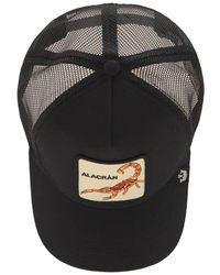 Goorin Bros Big Stinger Patch Baseball Hat - Black
