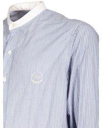Maison Margiela - ストライプコットンシャツ - Lyst