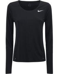 Nike ランニングトップ - ブラック