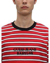 GUESS SPORT T-shirt Aus Baumwolljersey Mit Logo - Rot