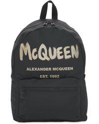 "Alexander McQueen Rucksack ""new Mcqueen Graffiti"" - Schwarz"