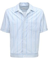 Brioni - ストライプコットンシャツ - Lyst