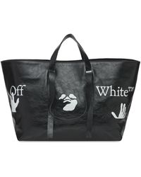"Off-White c/o Virgil Abloh Tote Aus Mit Commercial-logo ""66"" - Schwarz"