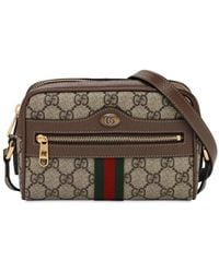 Gucci Ophidia Gg Supreme バッグ - ブラウン