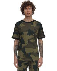 adidas Originals T-shirt Aus Baumwolljersey Mit Druck - Grün
