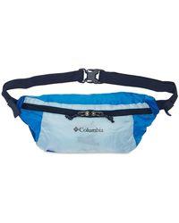 Columbia Lightweight Packable Hip Belt Bag - Blue